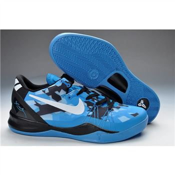 Mens Nike Kobe 8 Elite Series Blue Black