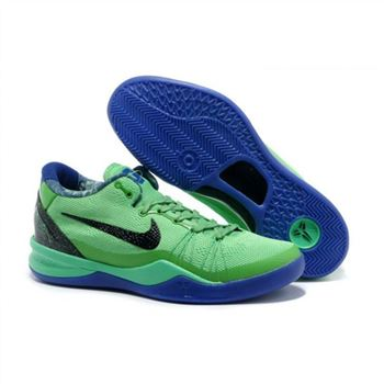 Mens Nike Kobe 8 System Elite GC Green Blue