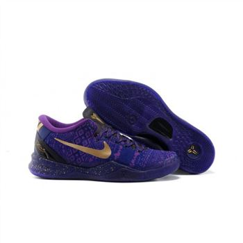 Mens Nike Kobe 8 System GC BHM Blue Purple Black