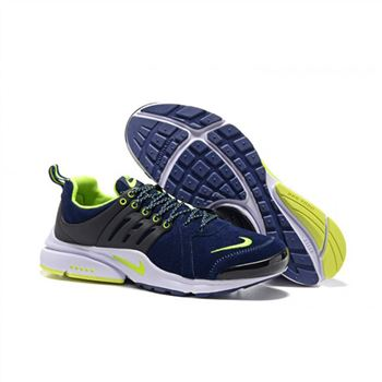 Men Nike Air Presto Shoes Navy Green