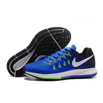 Mens Nike Air Zoom Pegasus 33 Shoes Sapphire Black Green