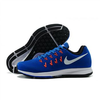 Mens Nike Air Zoom Pegasus 33 Shoes Sapphire White
