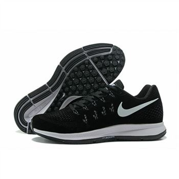 Mens Nike Air Zoom Pegasus 33 Shoes Black White II