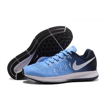Mens Nike Air Zoom Pegasus 33 Shoes Blue Navy White