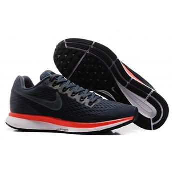 Mens Nike Air Zoom Pegasus 34 Black Gray Shoes
