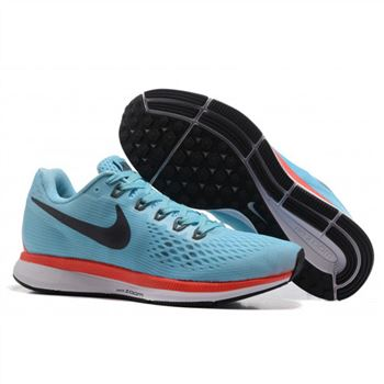 Mens Nike Air Zoom Pegasus 34 Blue Black Shoes