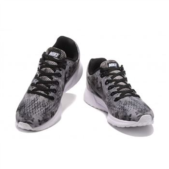 Mens Nike Air Zoom Pegasus 34 Gray Black White Shoes