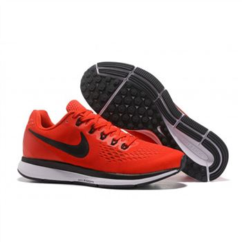 Mens Nike Air Zoom Pegasus 34 Red Black Shoes
