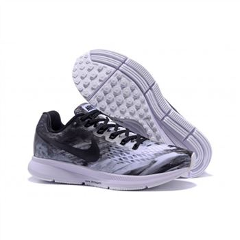 Mens Nike Air Zoom Pegasus 34 White Black Shoes