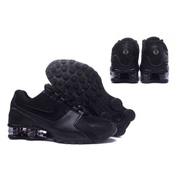 Mens Nike Shox Avenue Shoes All Black
