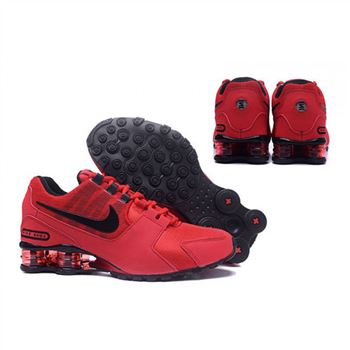 Mens Nike Shox Avenue Shoes Red Black