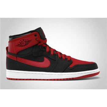 the best attitude 94eae 1bea8 402297-001 Air Jordan 1 KO 2012 Black Varsity Red White A01016