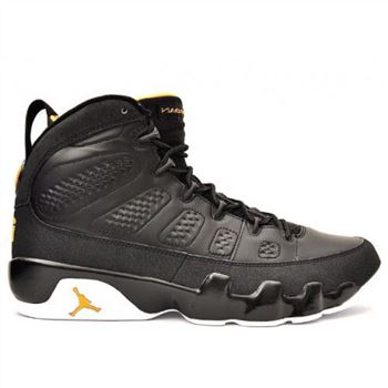 302370-004 Air Jordan 9 (IX) Retro Black Citrus White A09004