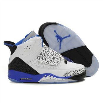 Air Jordan Son Of Mars Mens Shoes White Blue A22007