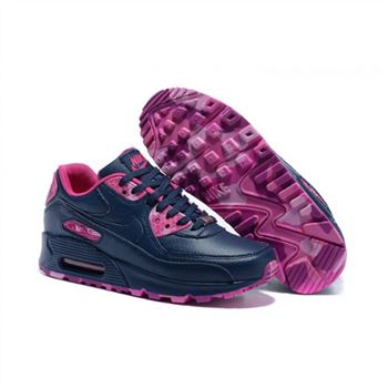 Womens Nike Air Max 90 QS Shoes Navy Red