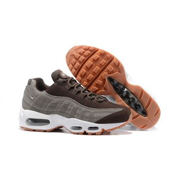 Womens Nike Air Max 95 Essential Brown Grey Shoes