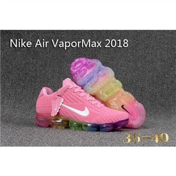 Womens Nike Air Vapormax 2018 Pink White Shoes