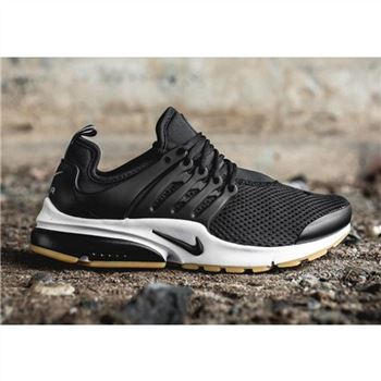 Nike Air Presto 2017 Black White Tan Shoes For Women