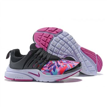 Nike Air Presto Women Black Colorful Shoes