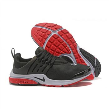 Nike Air Presto Women Black Red V Shoes