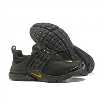 Nike Air Presto Women Black Yellow II Shoes