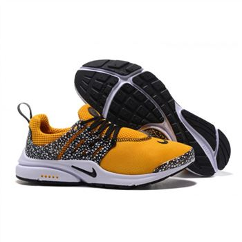 Nike Air Presto Women Gold Safari Shoes