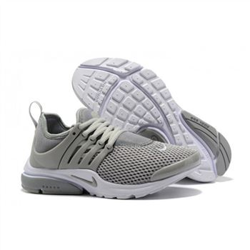 Nike Air Presto Women Gray White V Shoes