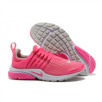 Nike Air Presto Women Peach White Shoes