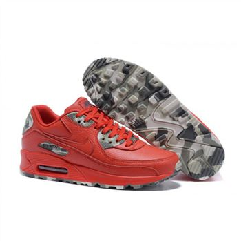Mens Nike Air Max 90 QS Shoes Red
