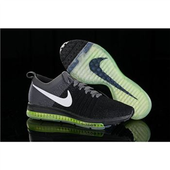 Women Nike Zoom All Out Flyknit Black Gray Shoes