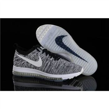 Women Nike Zoom All Out Flyknit Gray White Shoes