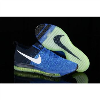 Women Nike Zoom All Out Flyknit Royalblue Navy Shoes