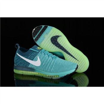 Women Nike Zoom All Out Flyknit Turquoise Blue Shoes