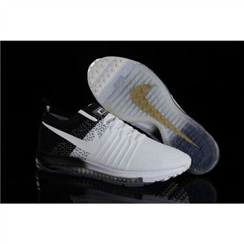 Women Nike Zoom All Out Flyknit White Black Shoes
