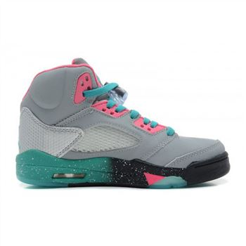 136027-036 Air Jordan 5 Miami Vice Custom Women