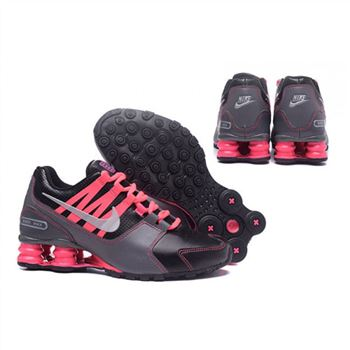 Nike Shox Avenue 803 Womens Shoes Black Grey Pink