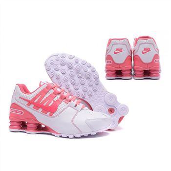 Nike Shox Avenue 803 Womens Shoes White Pink