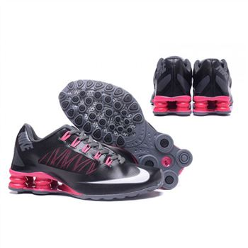 Womens Nike Shox Avenue 808 Black Pink Shoes