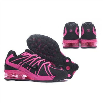 Womens Nike Shox Avernue 801 Black Peach Shoes