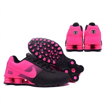 Womens Nike Shox Deliver Black Peach Shoes