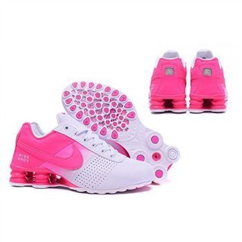 Womens Nike Shox Deliver White Pink Shoes
