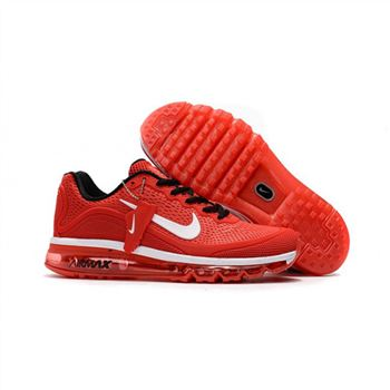 Mens Nike Air Max 2017.5 Shoes Red White