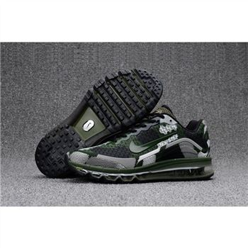 Mens Nike Air Max 2017.8 Camouflage Olive Shoes