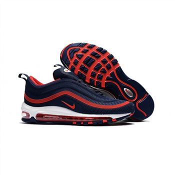Nike Air Max 97 Navy Red Shoes For Men