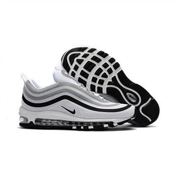 Nike Air Max 97 White Gray Black Shoes For Men
