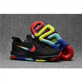 Nike Air Max DLX Black Colorful Shoes For Men
