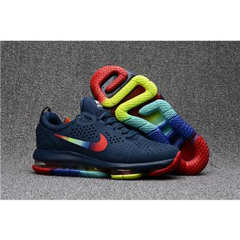 Nike Air Max DLX Navy Colorful Shoes For Men