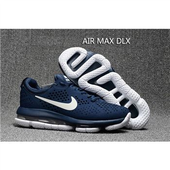 Nike Air Max DLX Navy White Shoes For Men