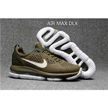Nike Air Max DLX Olive Green Shoes For Men
