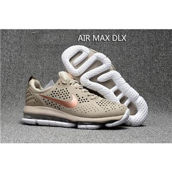 Nike Air Max DLX Tan Gold Shoes For Men